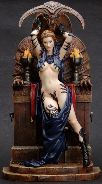 Fantasy Figure Gallery: The Sacrifice Statue