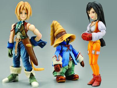 Final Fantasy IX Play Arts Set of 3