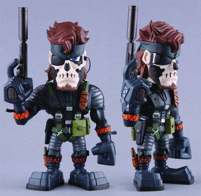 Metal Gear Solid 3: Zombie Snake Vinyl Collector Doll