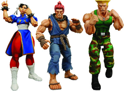 Street Fighter IV Set of 3 7