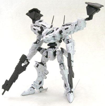 Armored Core White Glint & V.O.B. Model Kit