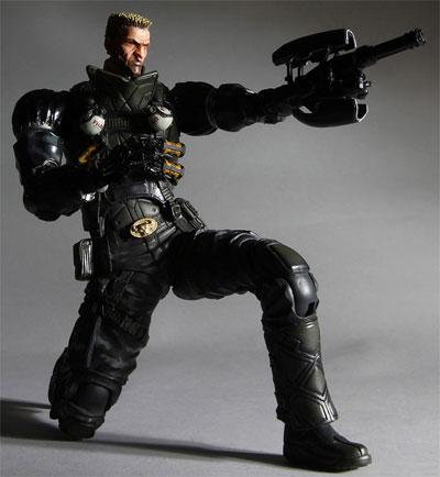 Deus Ex Human Revolution Play Arts Kai Barret AF