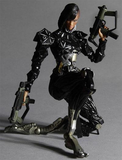 Deus Ex Human Revolution Play Arts Kai Federova AF