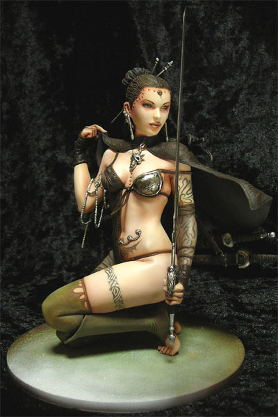 Fantasy Figure Gallery: Luis Royo Touch of Ice Statue