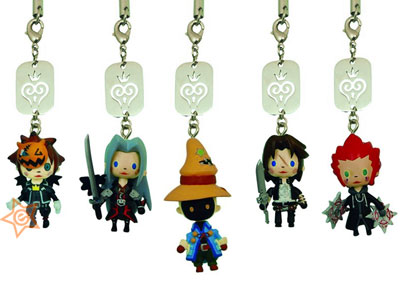 Kingdom Hearts Avatar Mascot Straps Series 2