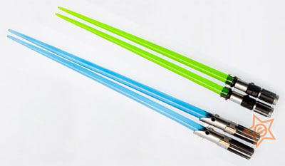 Star Wars Lightsaber Chopsticks Set