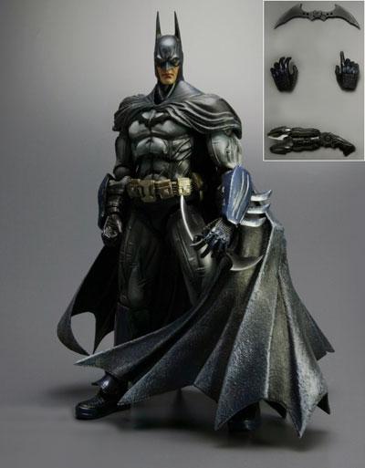 Play Arts Kai Arkham Asylum Batman Figure