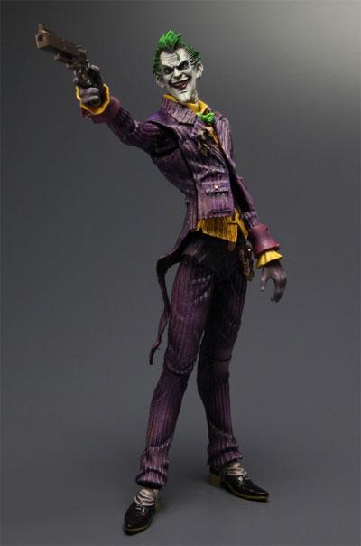Play Arts Kai Arkham Asylum Joker Figure
