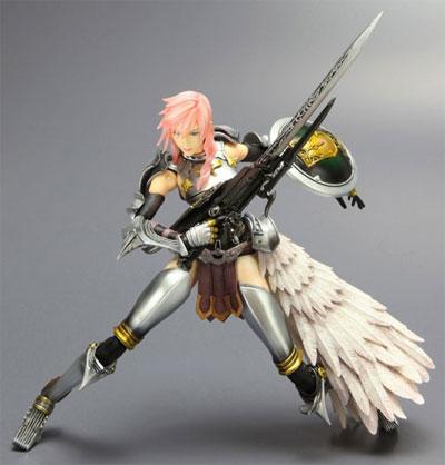 Final Fantasy XIII-2 Play Arts Kai Lightning Figure