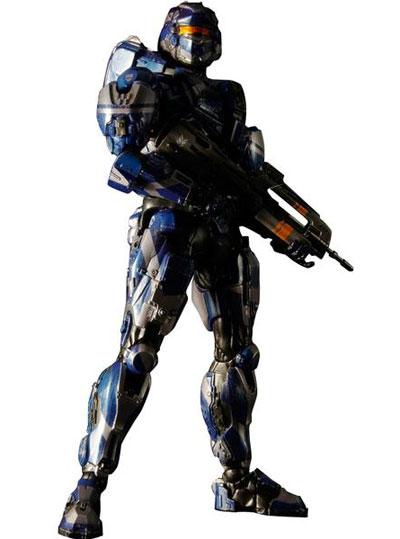 Halo 4 Play Arts Kai Spartan Warrior Action Figure
