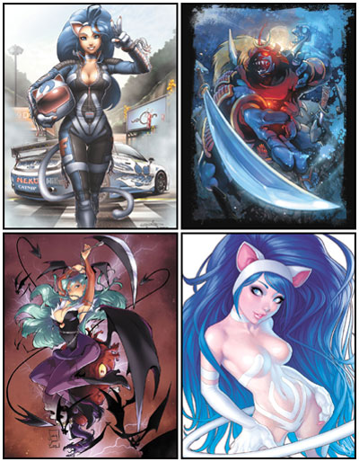 Darkstalkers Tribute Art Book