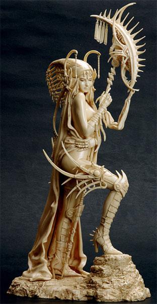 Fantasy Figure Gallery: Akira Statue (Ivory)