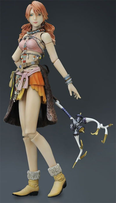 Final Fantasy XIII Play Arts Kai Oerba Dia Vanille Action Figure