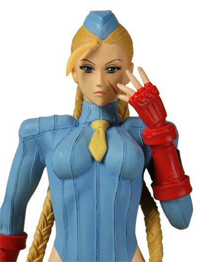 Street Fighter Cammy Killer Bee Statue