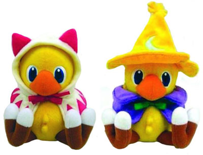 Final Fantasy Chocobo Plushes