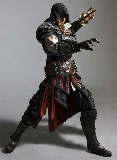 Assassin's Creed II Play Arts Kai Ezio Action Figure
