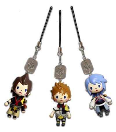 Kingdom Hearts Birth By Sleep Avatar Mascot Straps