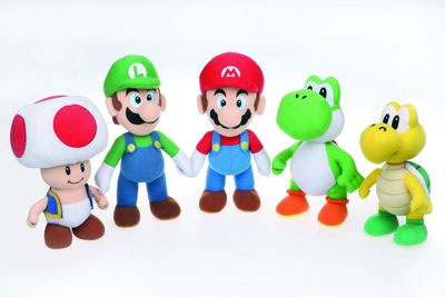 Super Mario Bros Plushes