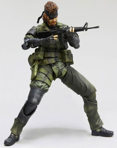 Metal Gear Solid: Peace Walker Play Arts Kai Snake Action Figure Jungle Version