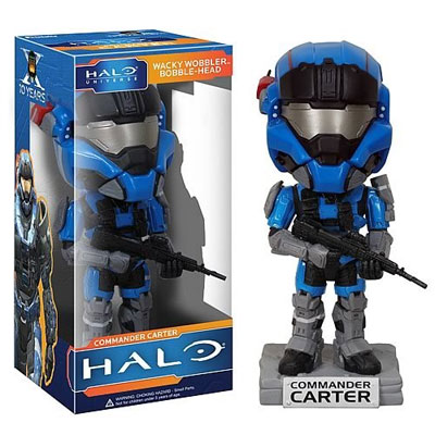 Halo Reach: Commander Carter Wacky Wobbler