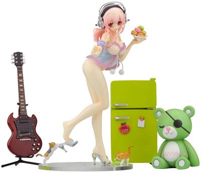Creators Labo 28 Super Sonico Deluxe Ver. PVC Figure
