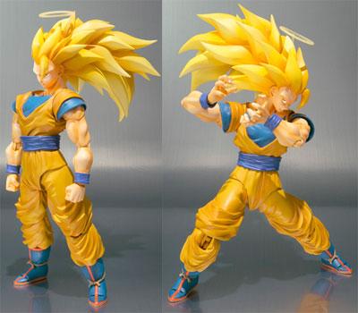Dragon Ball Z Super Saiyan 3 Son Goku S.H.Figuarts Figure