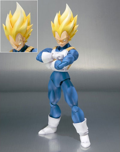 Dragon Ball Z Super Saiyan Vegeta S.H.Figuarts Figure