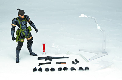 Capcom Figure Builder #02: Chris Redfield