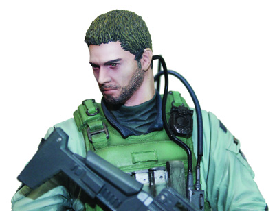 Capcom Figure Builder #02: Chris Redfield