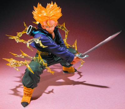 Dragon Ball Z Super Saiyan Trunks Figuarts Zero Action Figure
