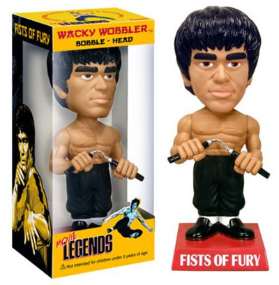Bruce Lee Fists of Fury Bobblehead