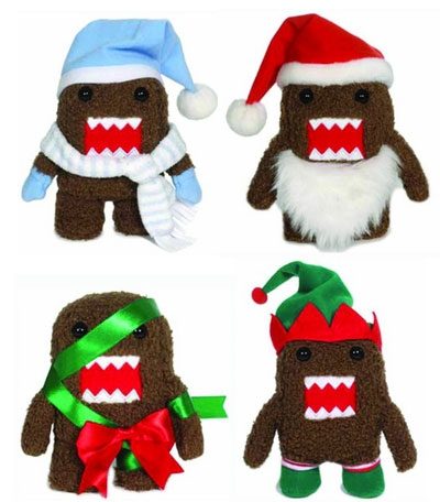 Domo 4 Inch Holiday Plushes
