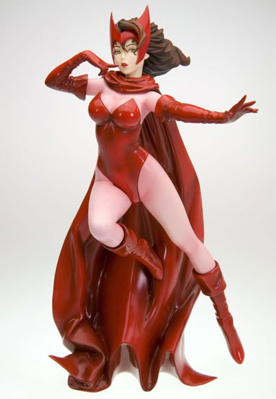Marvel Scarlet Witch Bishoujo Statue