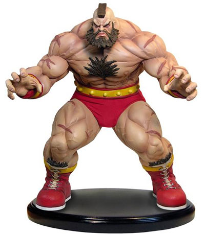 Street Fighter II Zangief 1/4 Scale Statue