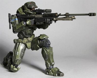 Halo Reach Play Arts Kai Jun-A266 Action Figure