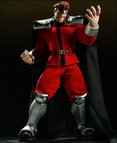 Street Fighter M. Bison Statue