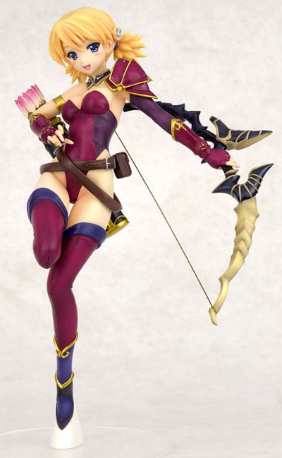 To Heart 2 Dungeon Travelers Karin Sniper Ani-Statue