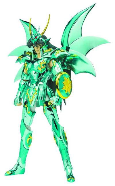 Saint Seiya: Saint Cloud Myth Dragon Shiryu God Cloth 10th Anniversary Figure