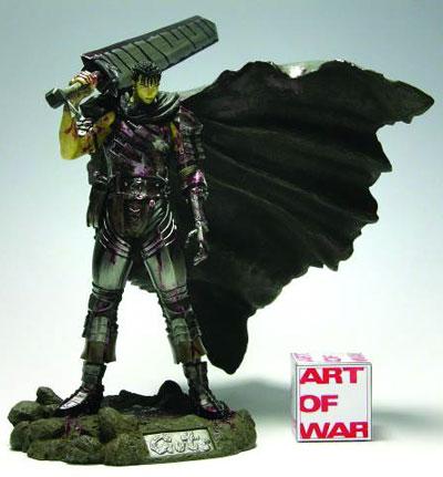 Berserk Guts Black Swordsman PVC Statue