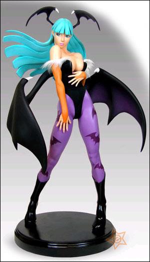 Darkstalkers: Morrigan 1/4 Scale Statue