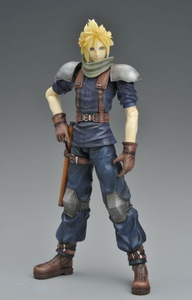 Final Fantasy Crisis Core Play Arts Cloud Strife Action Figure