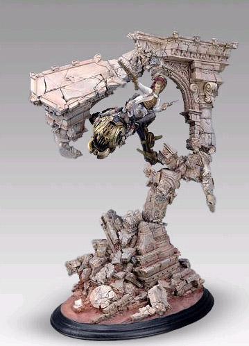 Final Fantasy XII Balthier & Fran Sculpture Arts