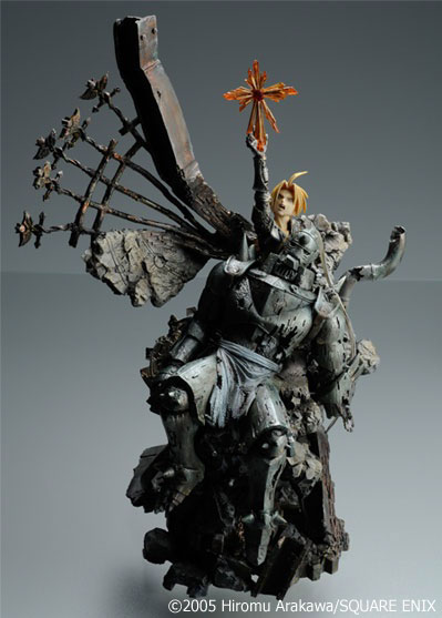Fullmetal Alchemist Sculpture Arts Edward and Alphonse 11 inch Statue