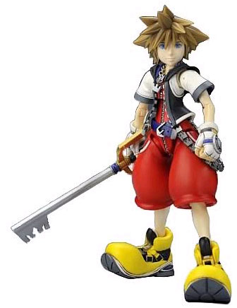 Kingdom Hearts Stactic Arts Sora PVC Statue