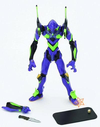 Neon Genesis Evangelion New Movie Edition Revoltech EVA-01 Type G Miniature Action Figure
