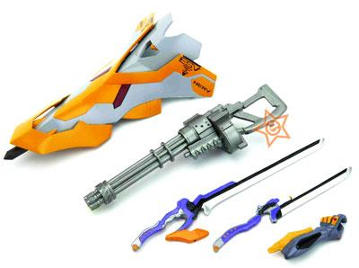 Neon Genesis Evangelion New Movie Edition Revoltech Miniature ESW Shield & Accessories