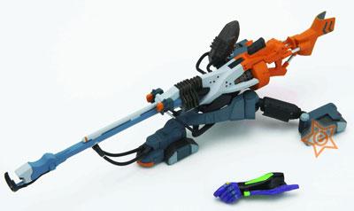 Neon Genesis Evangelion New Movie Edition Revoltech Miniature Positron Rifle
