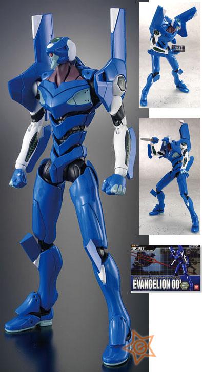Soul of Chogokin Tamashii SPEC XS-09: Neon Genesis Evangelion Unit-00 Action Figure