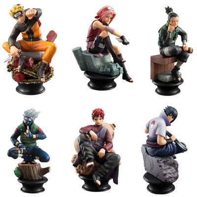 Naruto Shippuden Chess Piece Collection Vol 1