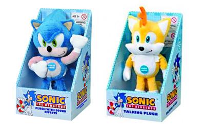 Sonic the Hedgehog Medium Plushes